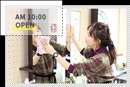 AM10:00 OPEN
